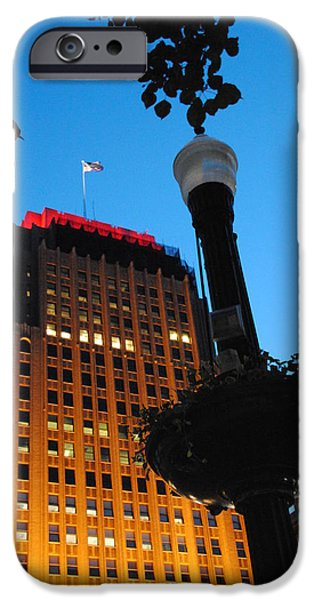 Recently Sold -  - Power iPhone Cases - Pa Power Light and Allentown symbol iPhone Case by Jacqueline M Lewis