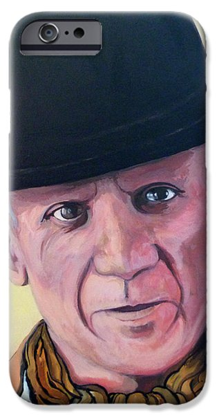 Pablo Picasso iPhone Case by Tom Roderick