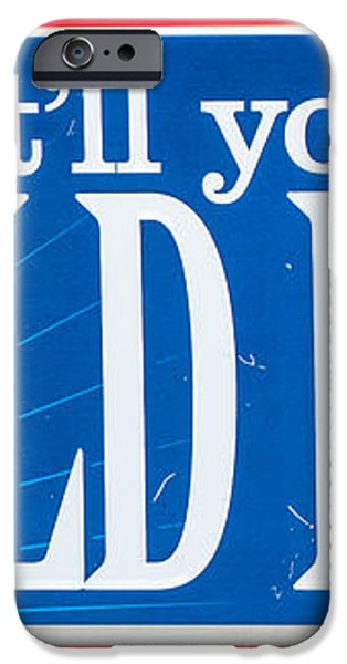 Pabst Cold Beer Sign Key West  iPhone Case by Ian Monk