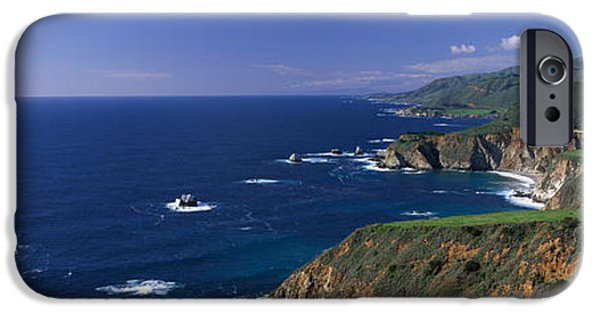 Big Sur Ca iPhone Cases - Pacific Coast, Big Sur, California, Usa iPhone Case by Panoramic Images