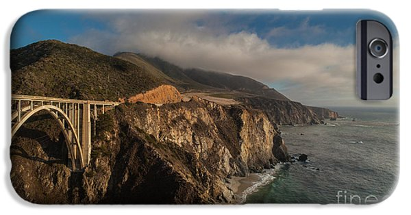 Big Sur iPhone Cases - Pacific Coastal Highway iPhone Case by Mike Reid
