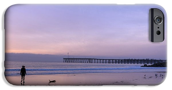 Ventura California iPhone Cases - Pacific Ocean Scenic in Ventura iPhone Case by Carol M Highsmith