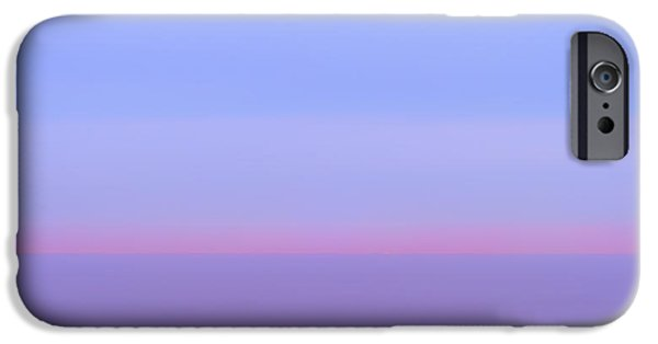 Abstract Seascape Photographs iPhone Cases - Pacific Rim iPhone Case by Joseph Smith