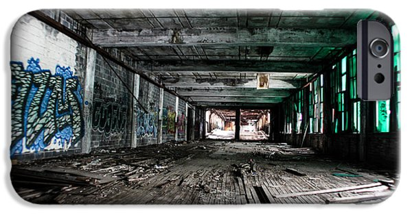 Recently Sold -  - Plant iPhone Cases - Packard Plant in Detroit iPhone Case by John McGraw