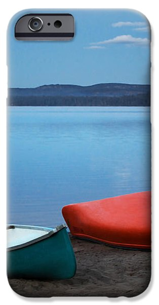 Paddle's End iPhone Case by Barbara McMahon