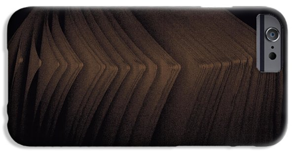 Asymmetrical iPhone Cases - Pages iPhone Case by Bob RL Evans