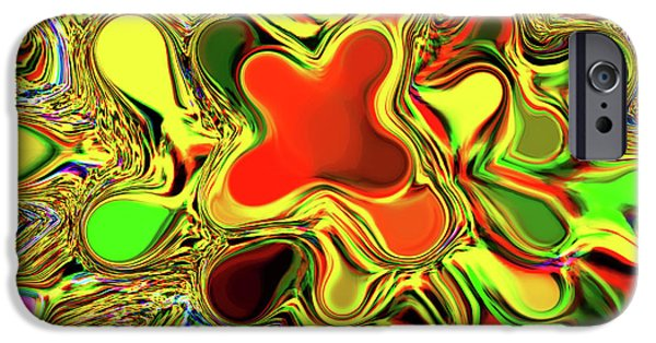Digitally Created iPhone Cases - Paint Ball Color Explosion iPhone Case by Andee Design