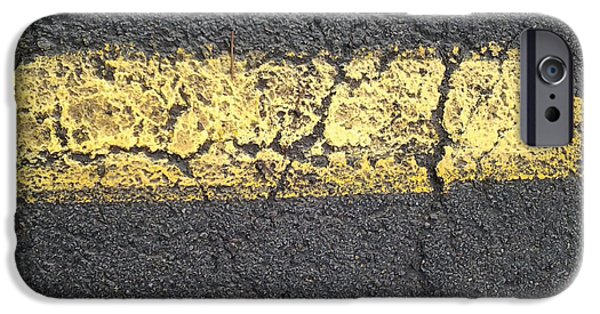 Asphalt iPhone Cases - Paint the City Ready iPhone Case by CR Leyland