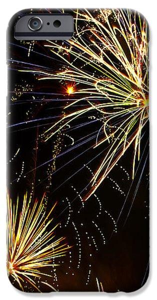 Paint the Sky with Fireworks  iPhone Case by Saija  Lehtonen