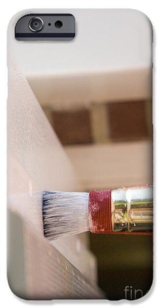 Painter Photographs iPhone Cases - Paintbrush iPhone Case by Patricia Hofmeester