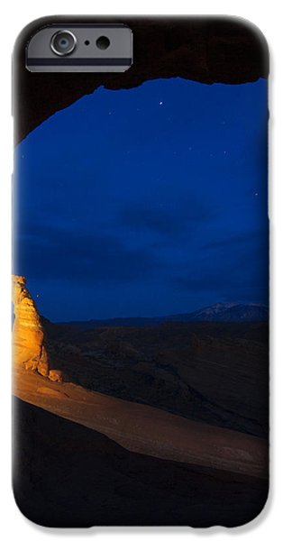 Painted Arch iPhone Case by Dustin  LeFevre