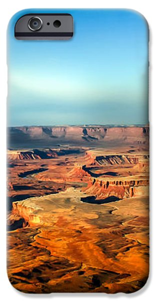 Painted Canyonland iPhone Case by Robert Bales