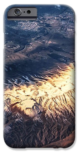 Painted Earth IV iPhone Case by Jenny Rainbow