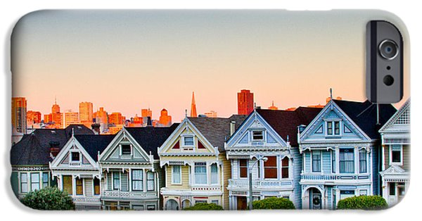 Bill Gallagher Photographs iPhone Cases - Painted Ladies iPhone Case by Bill Gallagher