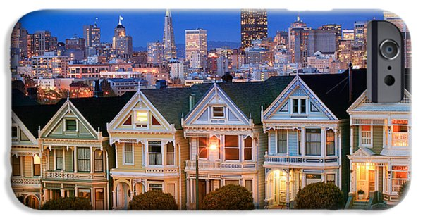 Californian iPhone Cases - Painted Ladies iPhone Case by Inge Johnsson