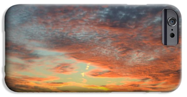Robert Daniels iPhone Cases - Painted Sky iPhone Case by Robert Daniels