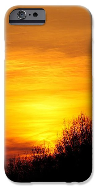 Painted Sky iPhone Case by Frozen in Time Fine Art Photography