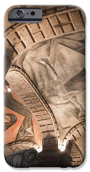 Painted vaults iPhone Case by Lynn Palmer