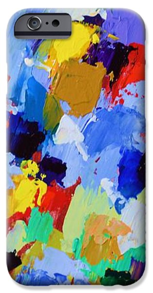 Abstract Expressionist iPhone Cases - My High Tower and My Deliverer - Psalm 144 2 - Abstract Expressionist Painting iPhone Case by Philip Jones