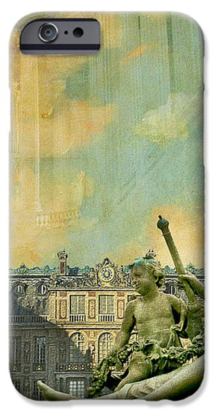 Palace and Park of Versailles UNESCO World Heritage Site iPhone Case by Catf
