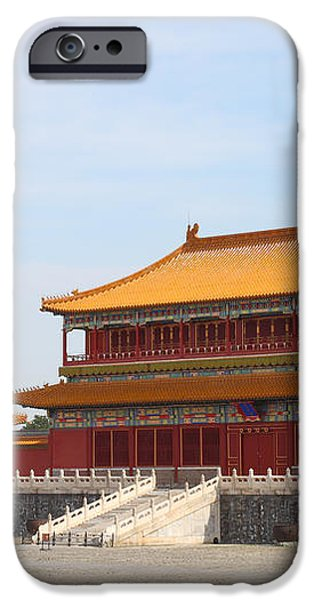Palace Forbidden city in Beijing iPhone Case by Thanapol Kuptanisakorn