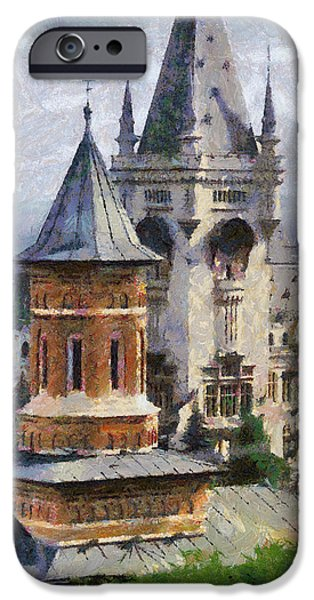 Palace of Culture iPhone Case by Jeff Kolker