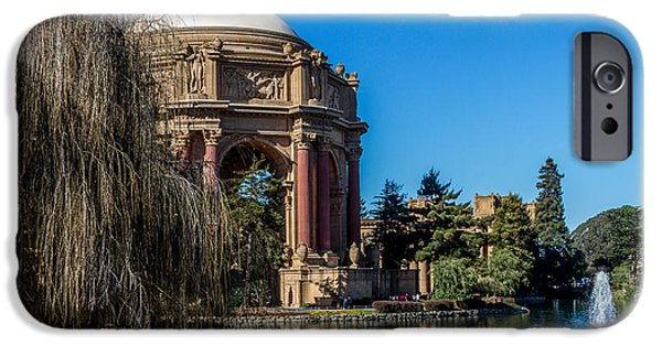 Bill Gallagher iPhone Cases - Palace Of Fine Arts In Color iPhone Case by Bill Gallagher