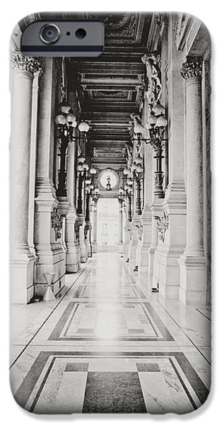 The White House Photographs iPhone Cases - Palais Garnier iPhone Case by Dana Walton