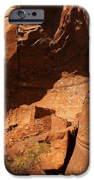 Ruins iPhone Cases - Palatki iPhone Case by Mike  Dawson