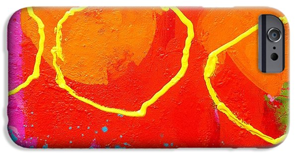 Celebration Paintings iPhone Cases - Palimpsest 004 iPhone Case by John  Nolan