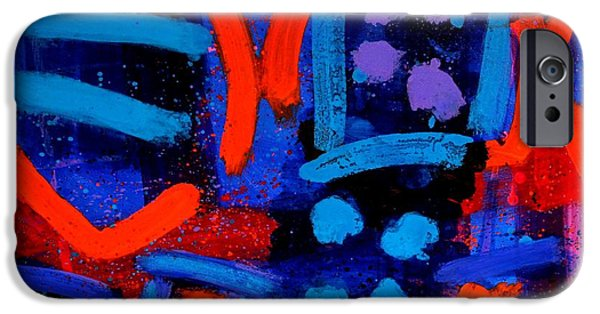 Original Acrylic iPhone Cases - Palimpsest 006 iPhone Case by John  Nolan
