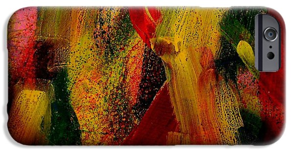 Freed Paintings iPhone Cases - Palimpsest 52 iPhone Case by John  Nolan