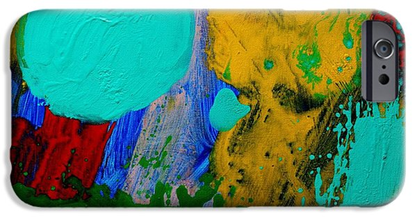 Abstract Movement iPhone Cases - Palimpsest III iPhone Case by John  Nolan
