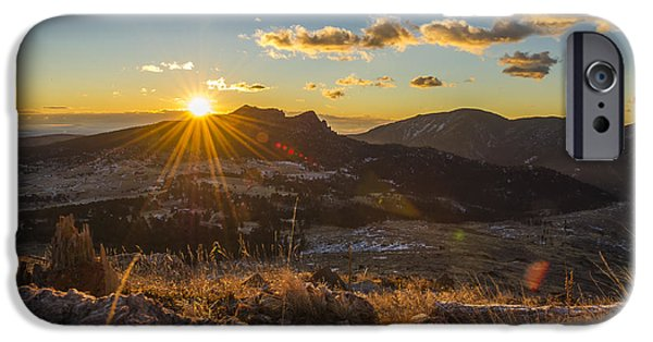 Recently Sold -  - Snowy iPhone Cases - Palisade sunrise iPhone Case by Chelsea Stockton