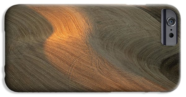 Contour Plowing iPhone Cases - Palouse Contours II iPhone Case by Doug Davidson