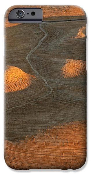 Palouse Contours IV iPhone Case by Latah Trail Foundation