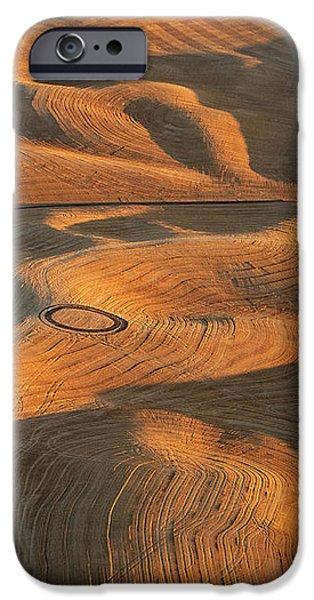 Palouse Contours V iPhone Case by Latah Trail Foundation