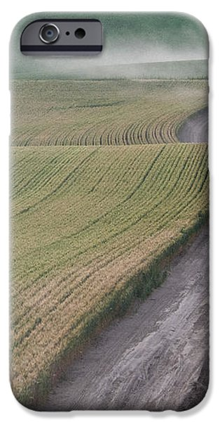 Palouse Dust Trail iPhone Case by Latah Trail Foundation