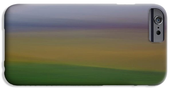 Contour Plowing iPhone Cases - Palouse Impression iPhone Case by Latah Trail Foundation