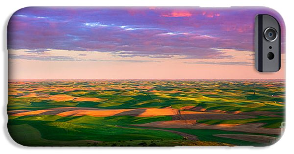 Best Sellers -  - Agricultural iPhone Cases - Palouse Land and Sky iPhone Case by Inge Johnsson