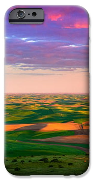 Palouse Land and Sky iPhone Case by Inge Johnsson