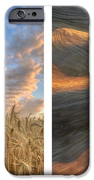 Palouse Seasons II iPhone Case by Doug Davidson