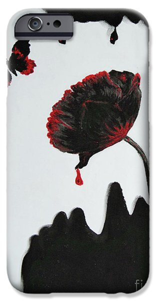 Deceit iPhone Cases - Pan is Dead iPhone Case by Stanza Widen