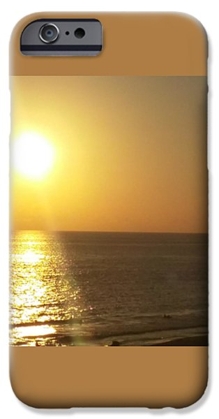 Etc. Paintings iPhone Cases - Panama City Beach #2 iPhone Case by Earnestine Clay