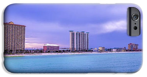 David iPhone Cases - Panama City Beach iPhone Case by David Morefield