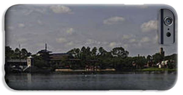 Swans... iPhone Cases - Pano Around The World iPhone Case by Ryan Crane