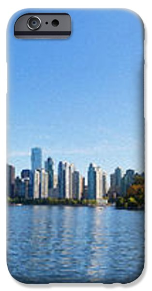 Panorama of Vancouver Harbor iPhone Case by Jodi Jacobson