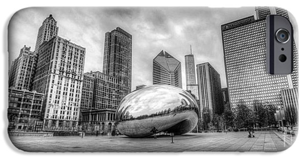City Scape iPhone Cases - Panoramic Bean iPhone Case by Andrew Slater