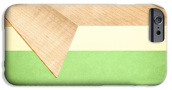 Glider iPhone Cases - Paper Airplanes of Wood 17 iPhone Case by Yo Pedro