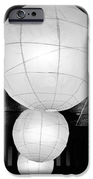 Paper Lampshades II iPhone Case by Bob Wall